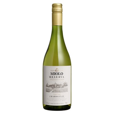 Vinho Branco Seco Miolo Reserva Chardonnay 750 ml