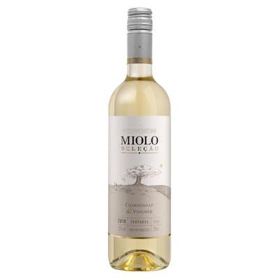Vinho Branco Seco Miolo Seleção Chardonnay & Viognier 750 ml