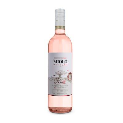 Vinho Rosado Seco Miolo Seleção Cabernet Sauvignon & Tempranillo Rosé 750 ml