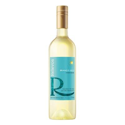 Vinho Branco Seco Relevos 750ml | Vasilhame Incluso