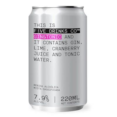 Five Drinks Gin & Tonic 220 ml