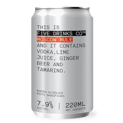 Five Drinks Moscow Mule 220 ml