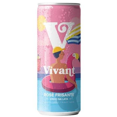 Vinho Rosé Frisante Vivant 269ml