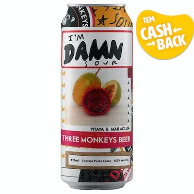 Three Monkeys American Sour Ale | Pitaya e Maracujá 473ml