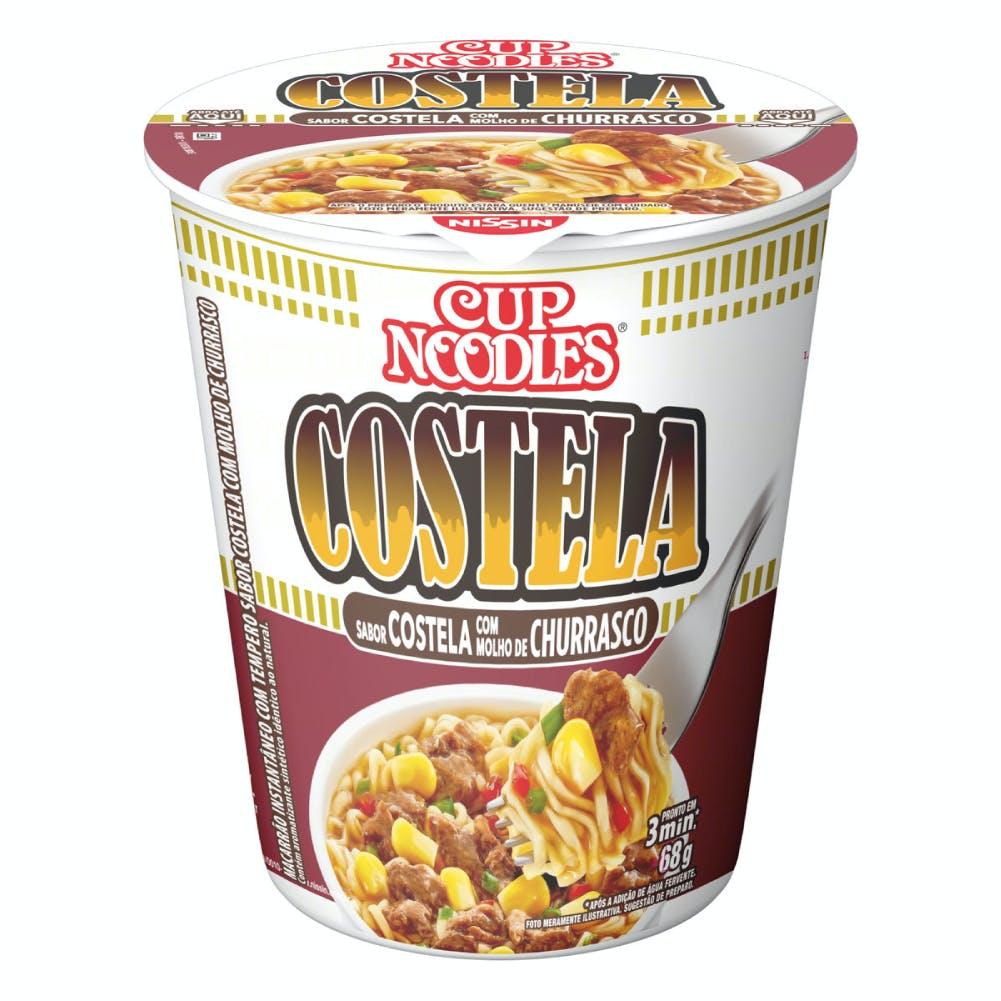 Cup Noodles Costela com Molho de Churrasco 68g
