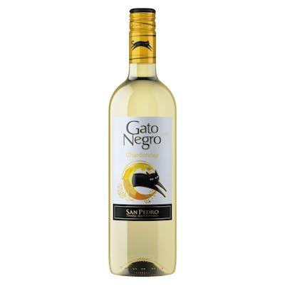 Vinho Branco Chileno Chardonnay Gato Negro 750 ml