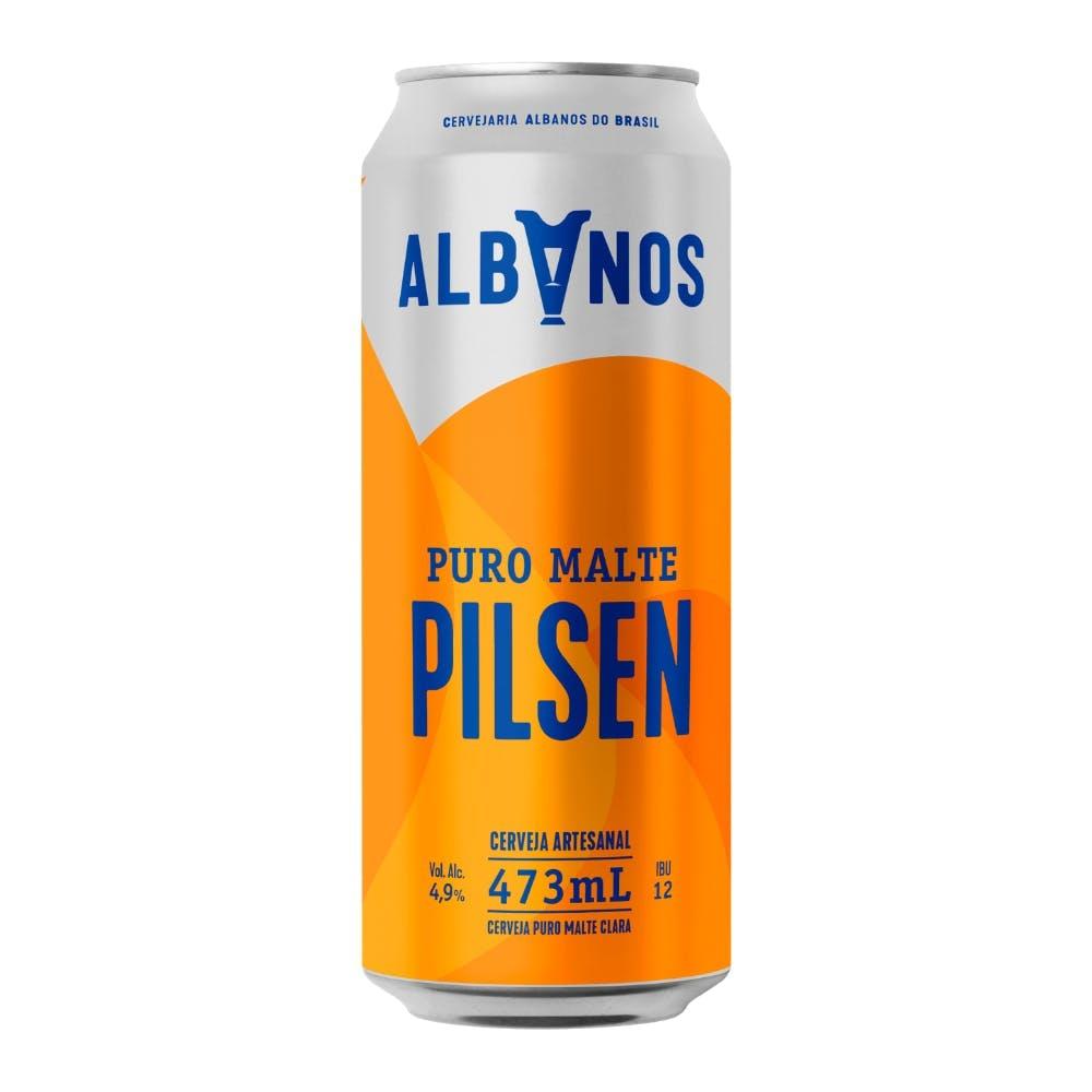 Albanos Pilsen 473ml