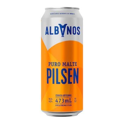 Albanos Pilsen Lata 473ml
