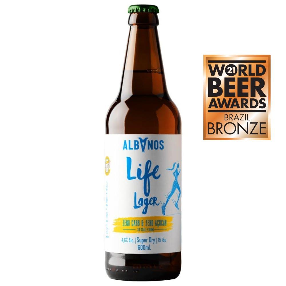 Albanos Life Lager Super Dry 600ml