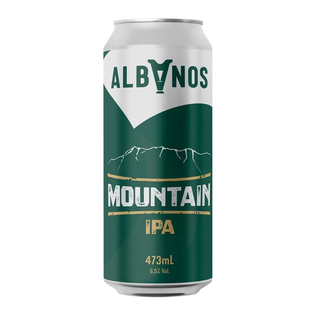 Albanos Mountain IPA Lata 473ml