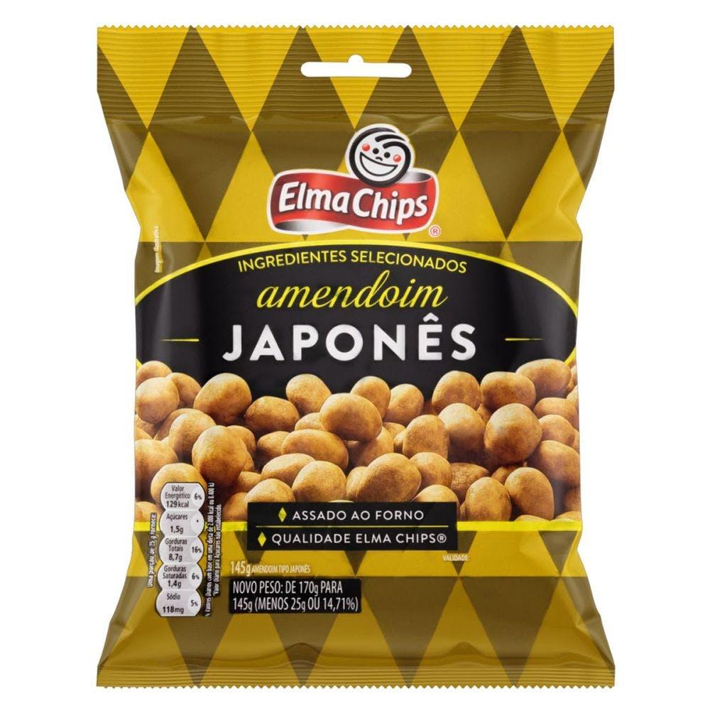 Amendoim Japones Elma Chips 22g