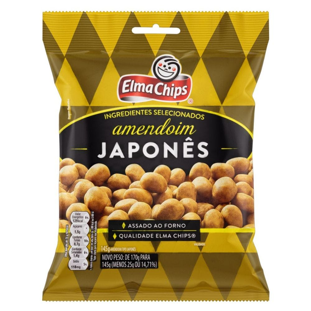 Amendoim Japones Elma Chips 45g