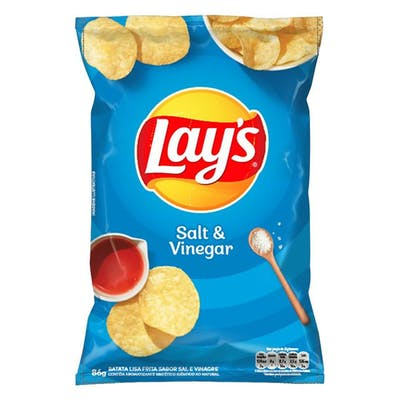 Lays Salt&Vinegar 80g