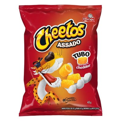 Cheetos Tubo Cheddar 45g
