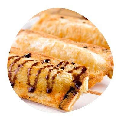 Crepe Sertanejo (carne de sol e requeijão) unid