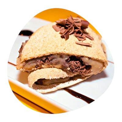 Tapioca Recheada Assum Preto (chocolate e queijo) 200g