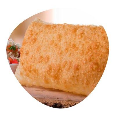 Pastel Nordestino (carne do sol c/ queijo coalho)  20cm