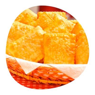 Pastel Queijo Porção 12 unid