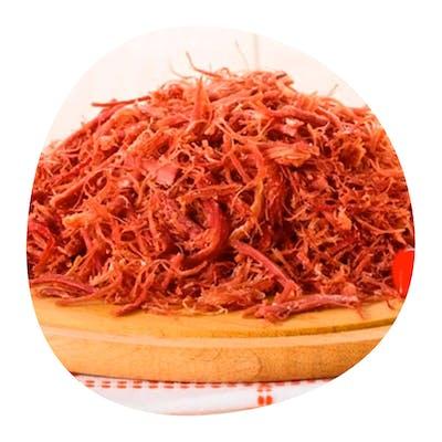 Pratim 4 - carne do sol desfiada , baião, paçoca 500g