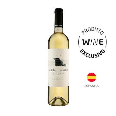 Vinho Branco Chardonnay Macabeo Esteban Martín 750ml