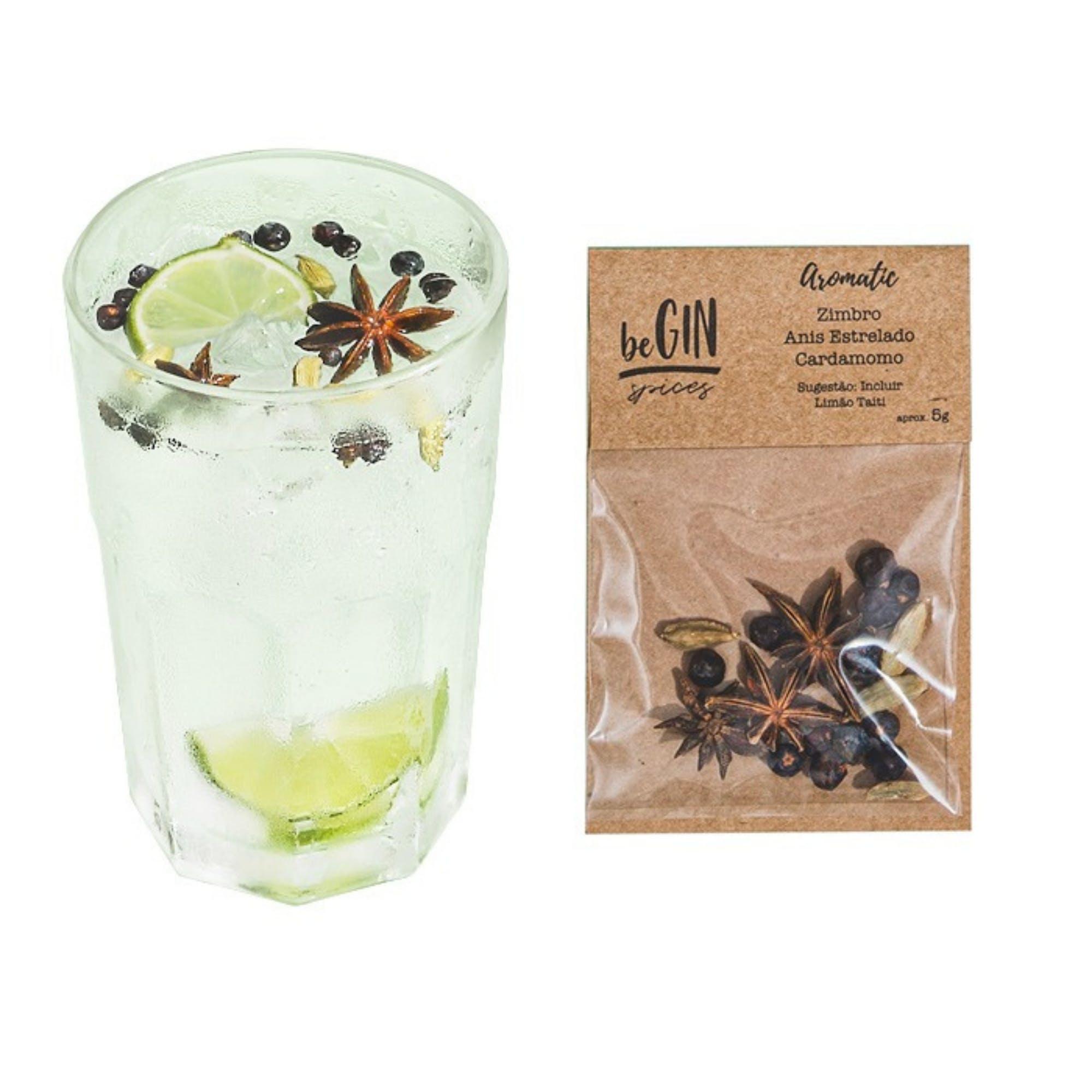 Begin Spices Sachê Especiarias Gin Tônica Aromatic