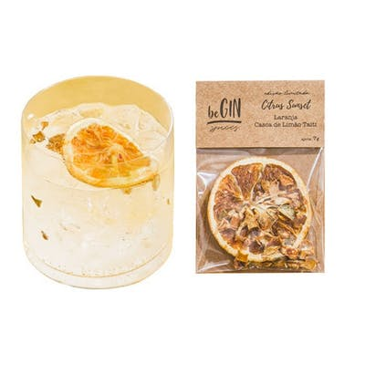 Begin Spices Sachê Especiarias Gin Tônica Citrus Sunset