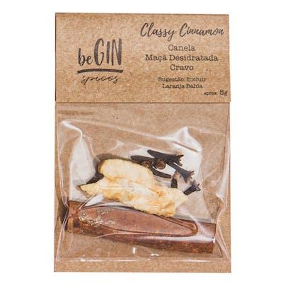 Begin Spices Sachê Especiarias Gin Tônica Classy Cinnamon