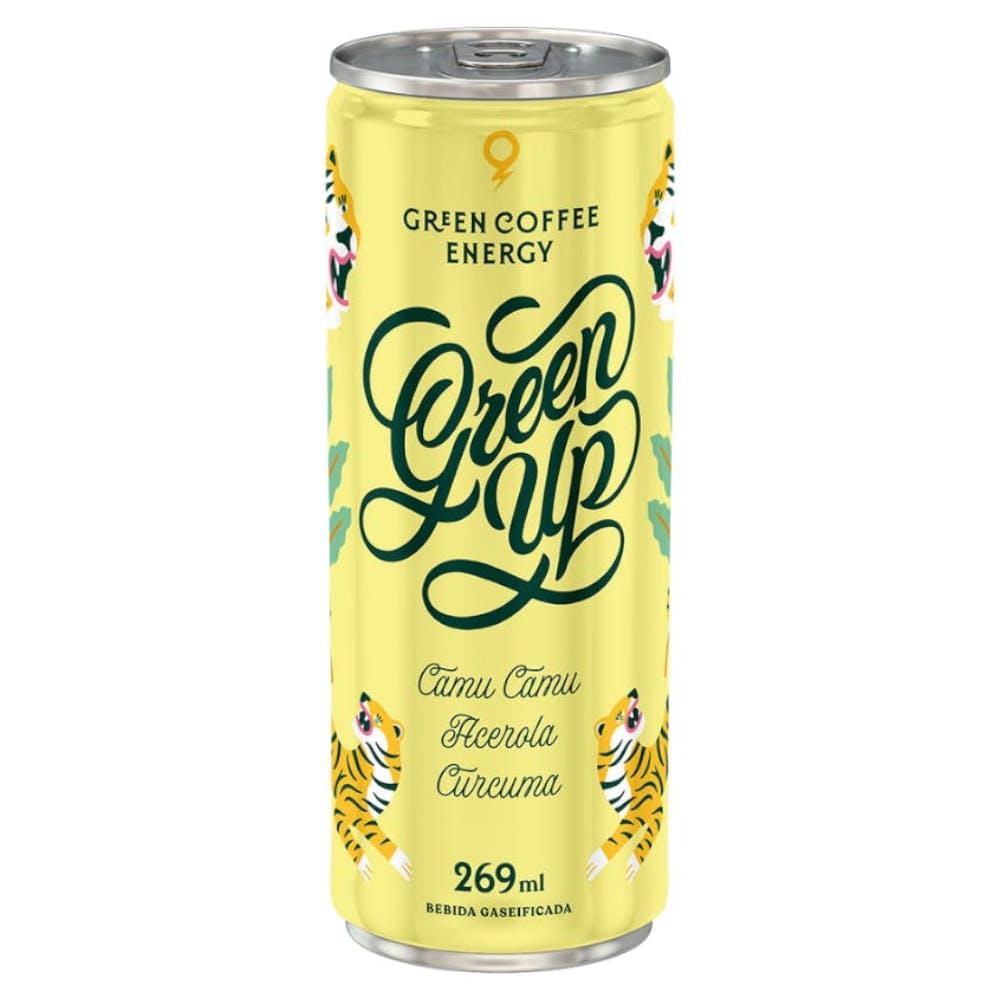 Energético Natural Green Up sabor Camu Camu, Acerola e Cúrcuma 269ml