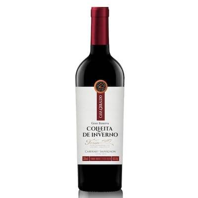 Vinho Nobre Tinto Seco Cabernet Sauvignon Gran Reserva Colheita Inverno Terroir 750ml