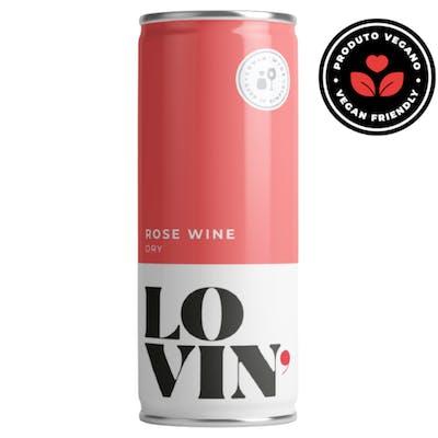 Vinho Rosé Seco Lovin 269ml