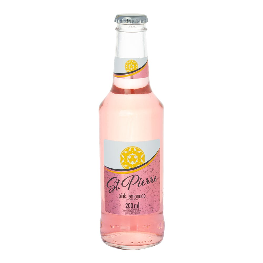 Água Tônica St. Pierre Pink Lemonade 200ml