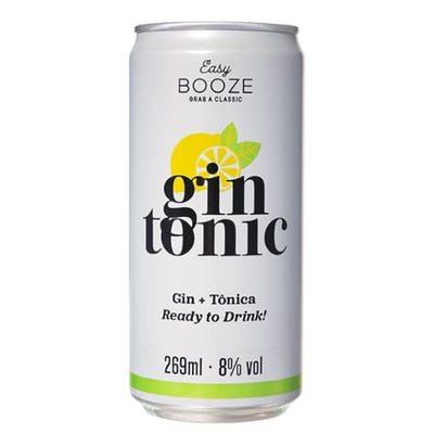Easy Booze Gin Tônica 269ml