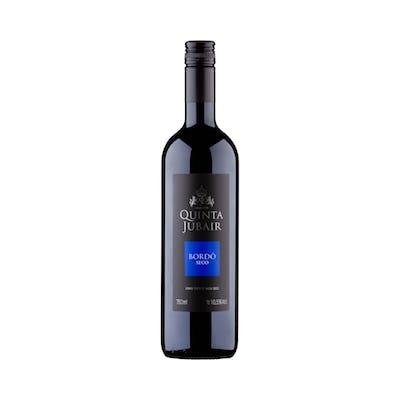 Vinho Bordô Tinto Seco Quinta Jubair 750ml