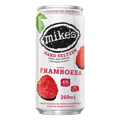 Mikes Hard Seltzer Framboesa 269ml