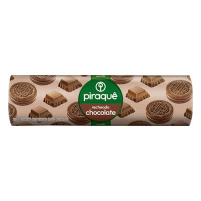 Piraque Biscoito Recheado Chocolate 160g