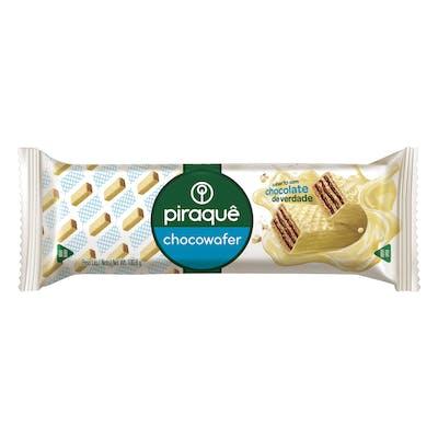 Piraque Chocowafer Chocolate Branco 100g