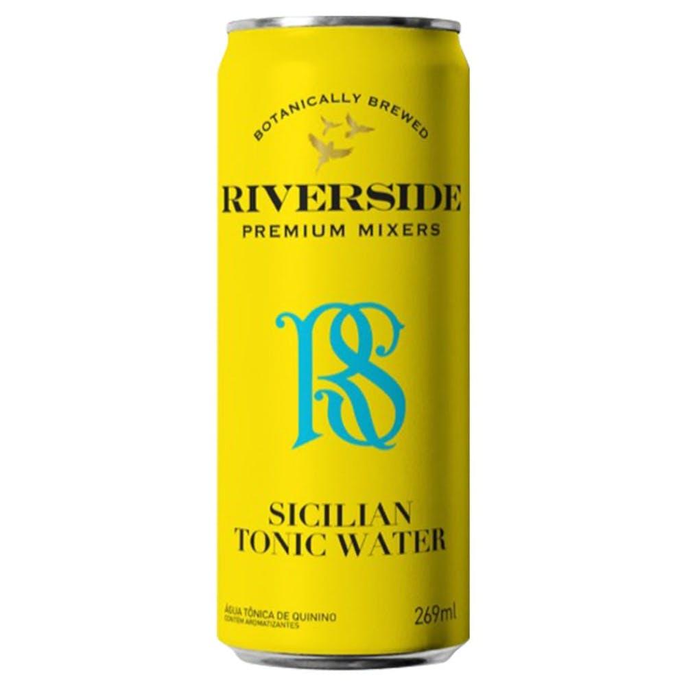 Água Tônica sabor Limão Siciliano Riverside 269ml