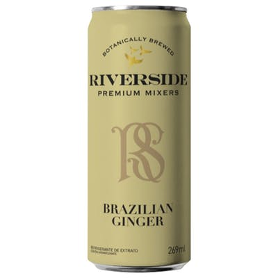 Água Tônica sabor Gengibre Brasileiro Riverside 269ml