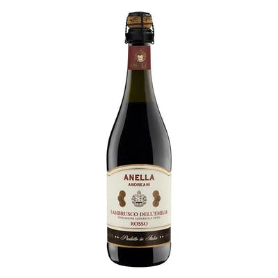 Vinho Frisante Tinto Anella Andreani Lambrusco 750ml