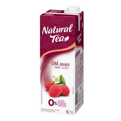 Chá Branco C/ Lichia Natural Tea 1L