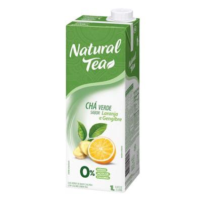 Chá Verde C/ Laranja E Gengibre Natural Tea 1L