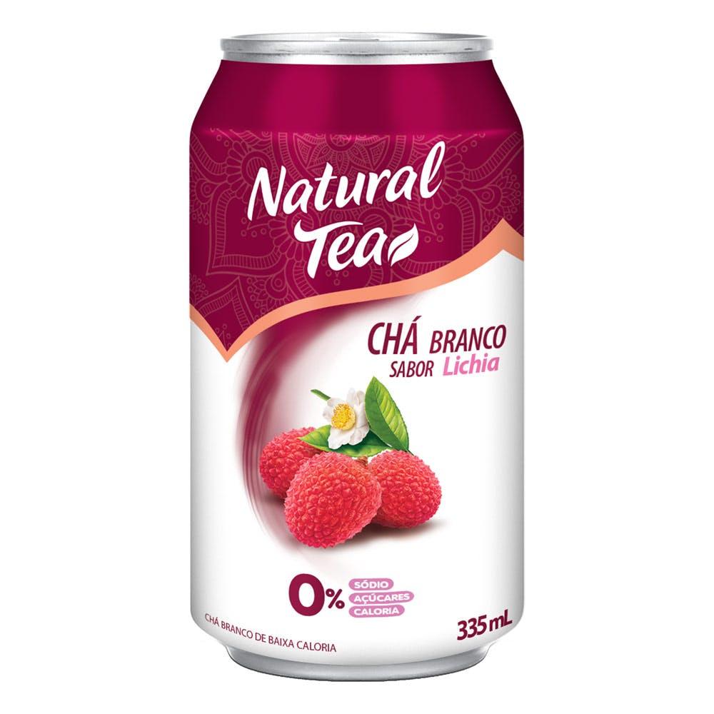 Chá Branco C/ Lichia Natural Tea Lata 335mL