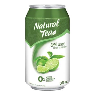 Chá Verde C/ Limão Natural Tea Lata 335mL