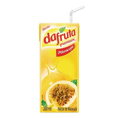 Suco De Maracujá Dafruta 200mL