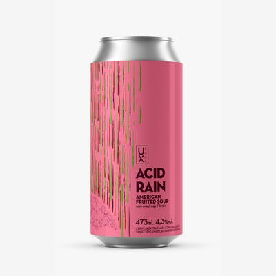 Ux Brew Acid Rain Uva Caju e Limão Lata 473ml