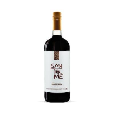Vinho Tinto Bordô Suave Santomé 1L