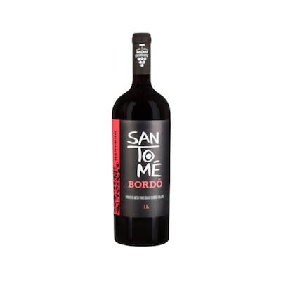 Vinho Tinto Bordô Suave Rolha Santomé 1L
