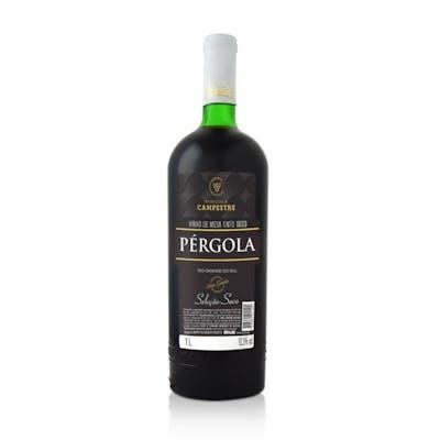 Vinho Tinto de Mesa Seco Pérgola 1L