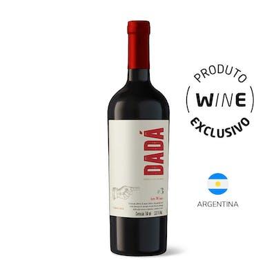 Vinho Tinto Syrah e Cabernet Sauvignon Dadá Nº3 750ml
