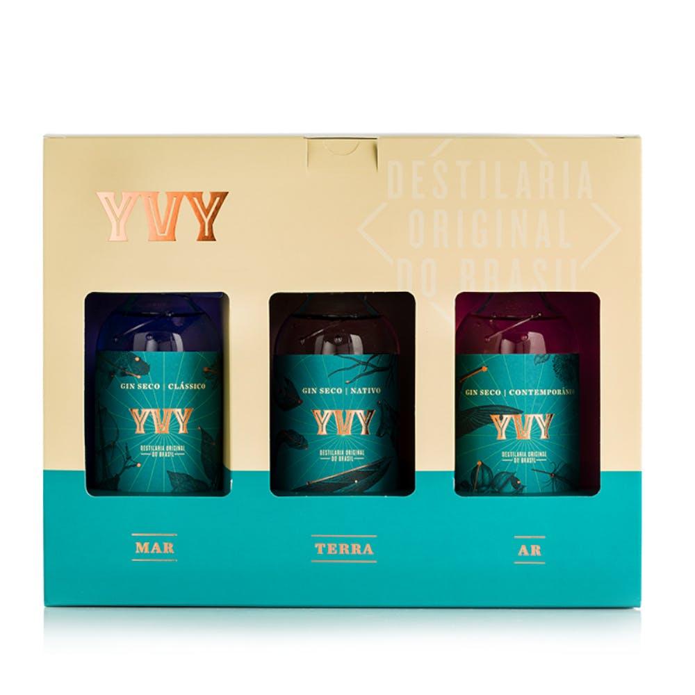 Kit Gin Trilogia YVY 200ml